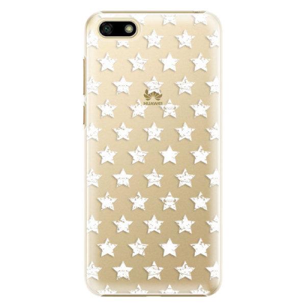 Plastové pouzdro iSaprio – Stars Pattern – white – Huawei Y5 2018 Plastové pouzdro iSaprio – Stars Pattern – white – Huawei Y5 2018