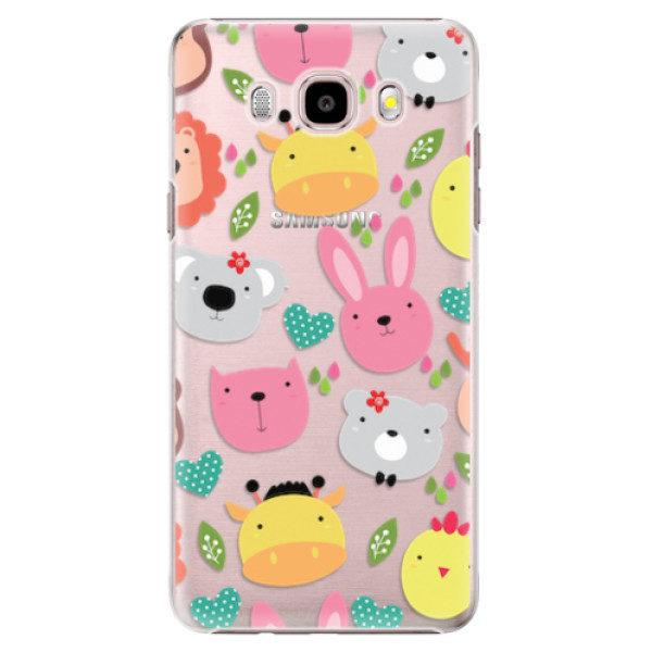 Plastové pouzdro iSaprio – Animals 01 – Samsung Galaxy J5 2016 Plastové pouzdro iSaprio – Animals 01 – Samsung Galaxy J5 2016