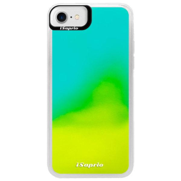 Neonové pouzdro Blue iSaprio – 4Pure – mléčný bez potisku – iPhone 7 Neonové pouzdro Blue iSaprio – 4Pure – mléčný bez potisku – iPhone 7