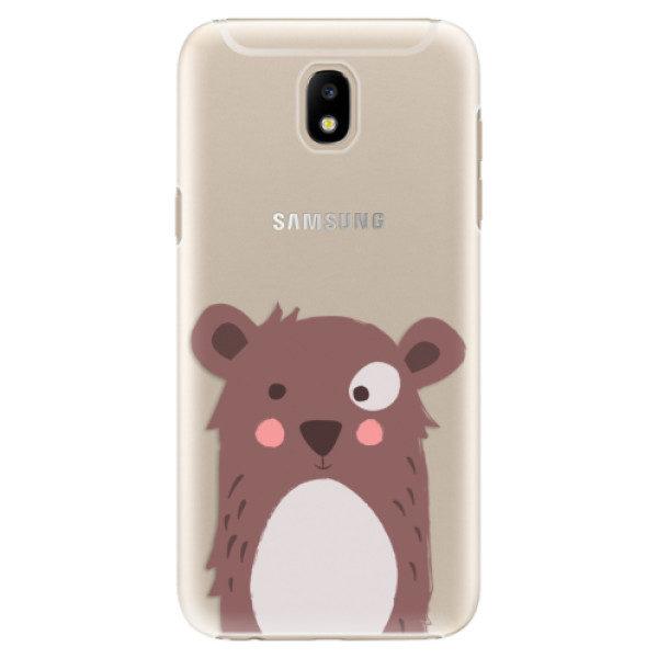 Plastové pouzdro iSaprio – Brown Bear – Samsung Galaxy J5 2017 Plastové pouzdro iSaprio – Brown Bear – Samsung Galaxy J5 2017