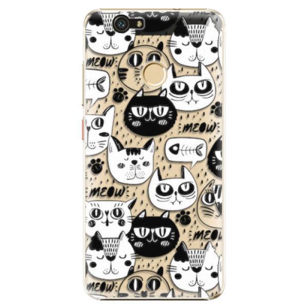 Plastové pouzdro iSaprio – Cat pattern 03 – Huawei Nova Plastové pouzdro iSaprio – Cat pattern 03 – Huawei Nova