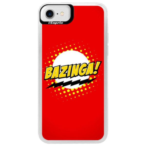 Neonové pouzdro Blue iSaprio – Bazinga 01 – iPhone 7 Neonové pouzdro Blue iSaprio – Bazinga 01 – iPhone 7