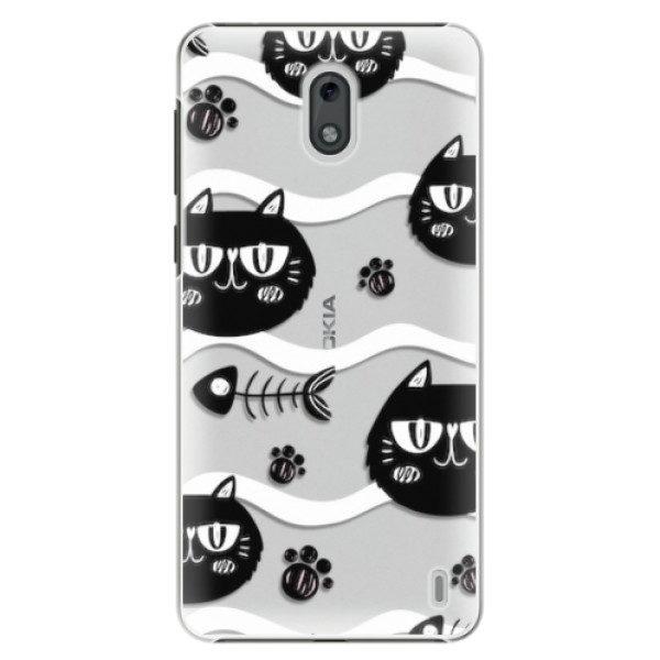 Plastové pouzdro iSaprio – Cat pattern 04 – Nokia 2 Plastové pouzdro iSaprio – Cat pattern 04 – Nokia 2