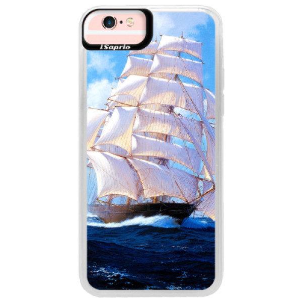 Neonové pouzdro Pink iSaprio – Sailing Boat – iPhone 6/6S Neonové pouzdro Pink iSaprio – Sailing Boat – iPhone 6/6S